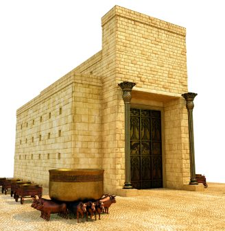 Who Built the First Temple Solomon
