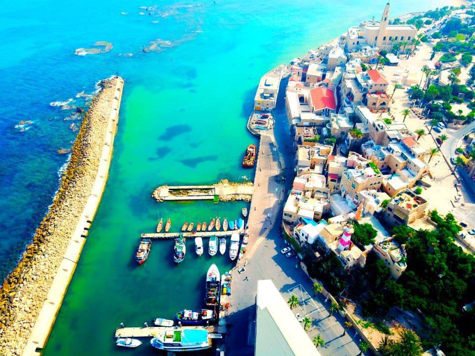 Jaffa Port Aerial