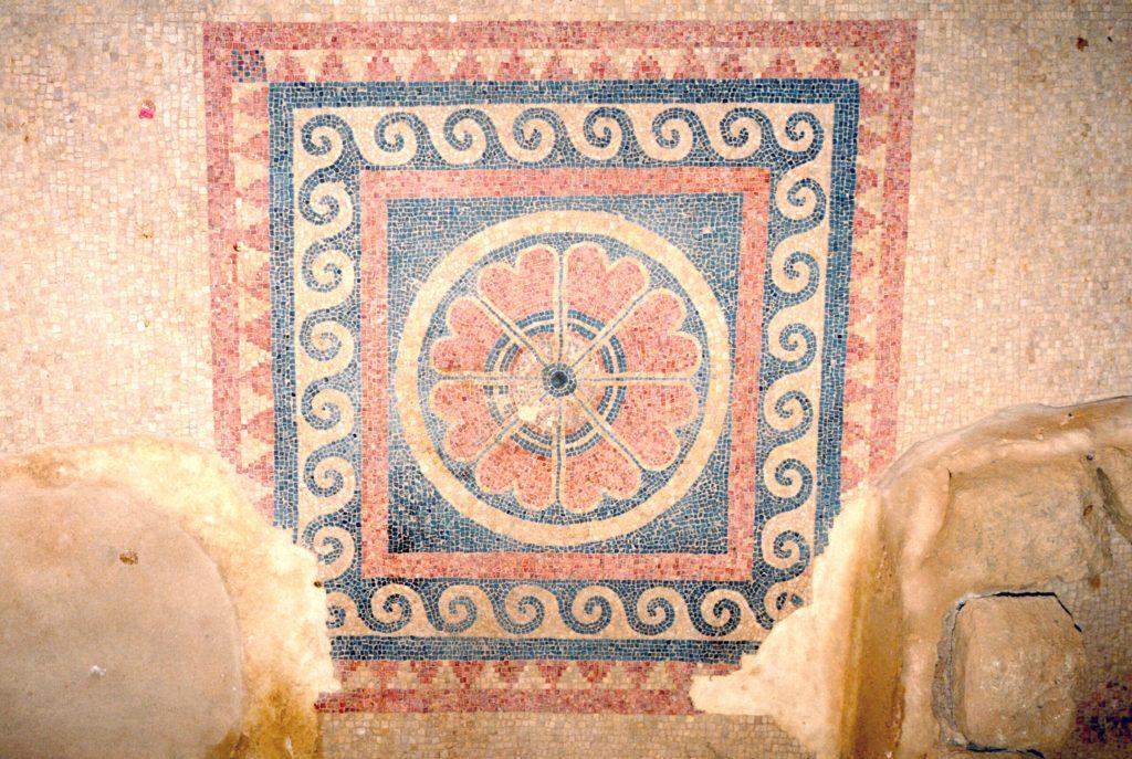 Masada Museum Mosaic