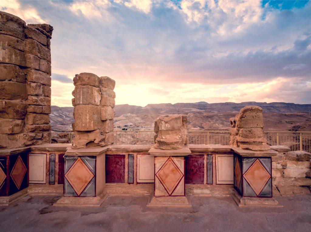 Masada Museum Frescos