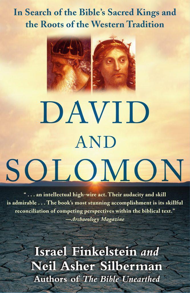 David and Solomon by Israel Finkelstein