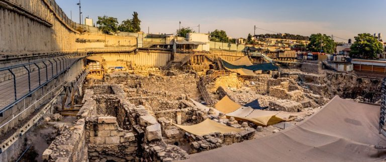 Shiloh Excavations In The City Of David