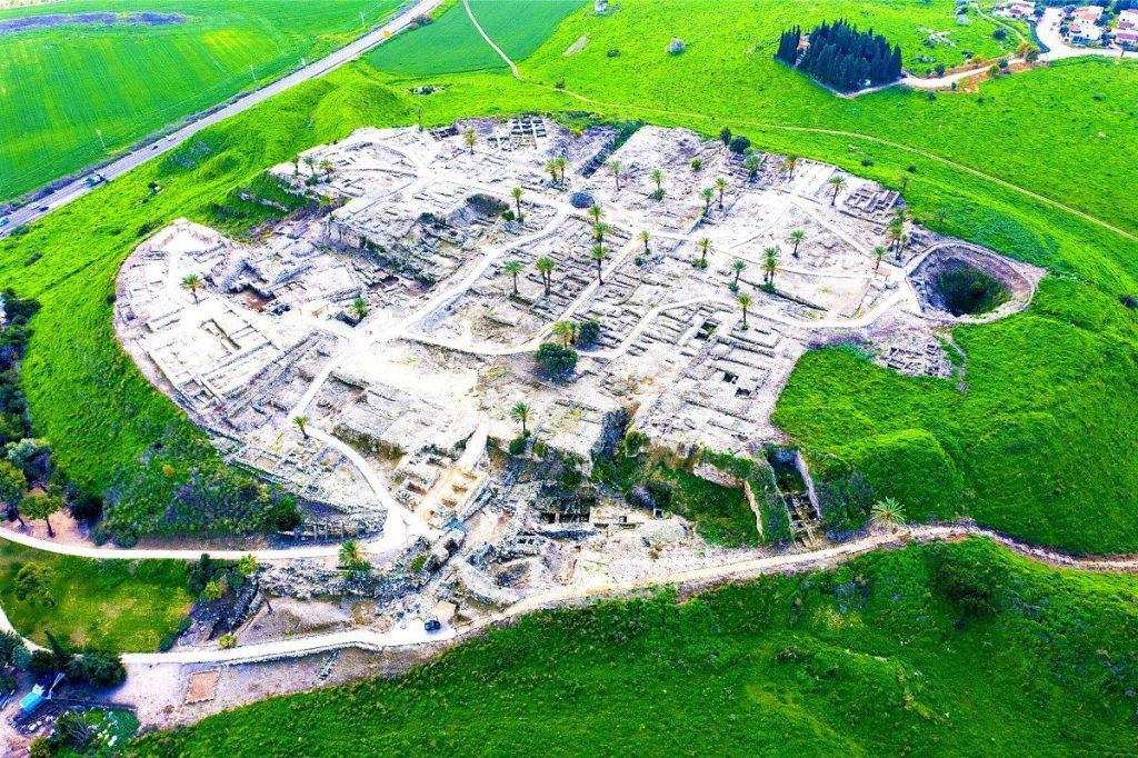 Biblical Tels in Israel - Tel Megiddo