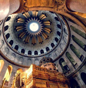 Touring Holy Jerusalem - Church of the Holy Seplchure