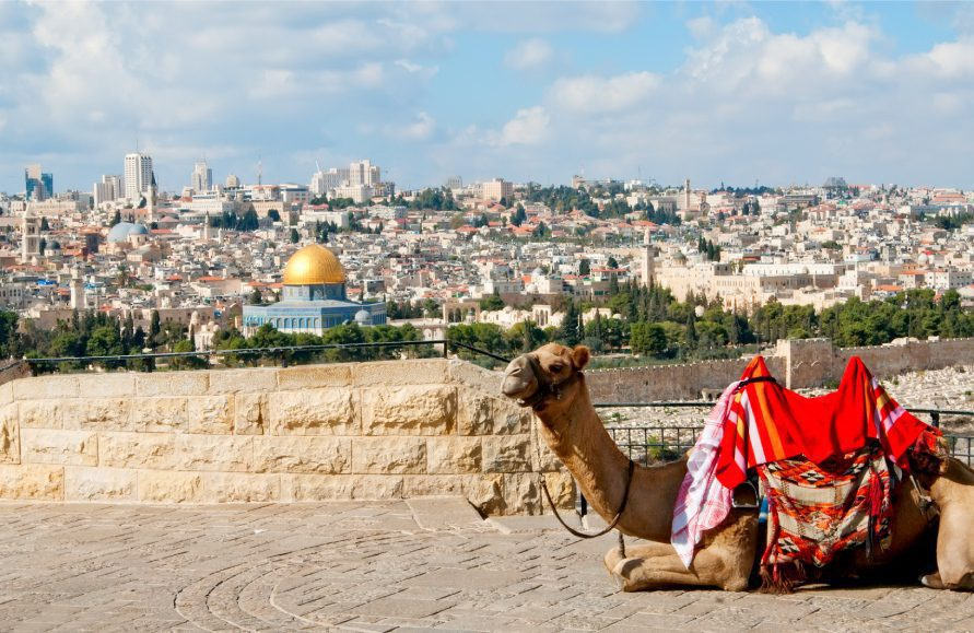 Touring Holy Jerusalem - Mount of Olives Viewpoint