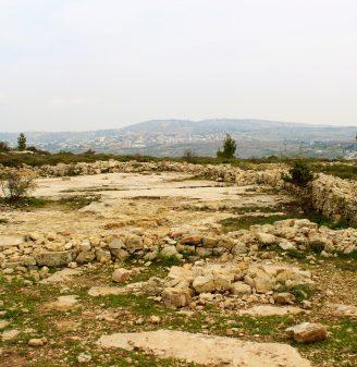 Ancient Beth - Jeroboam's Temple in Beth El