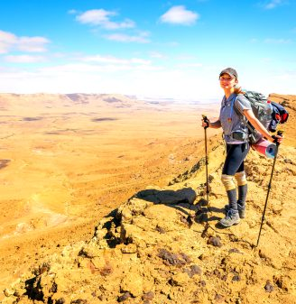 Best National Parks in Israel - Ramon Crater