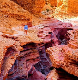 Hiking the Red Canyon