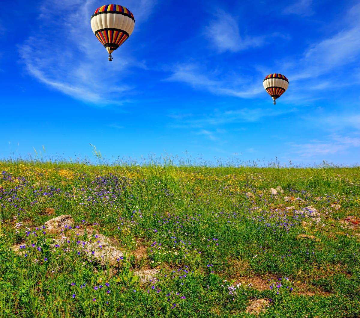 Hot Air Balloons in Israel