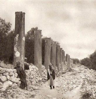 Ruins of Samaria