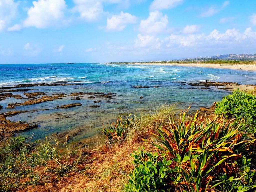 Best Med Sea Beaches in Israel - Jisr A Zarqa Beach