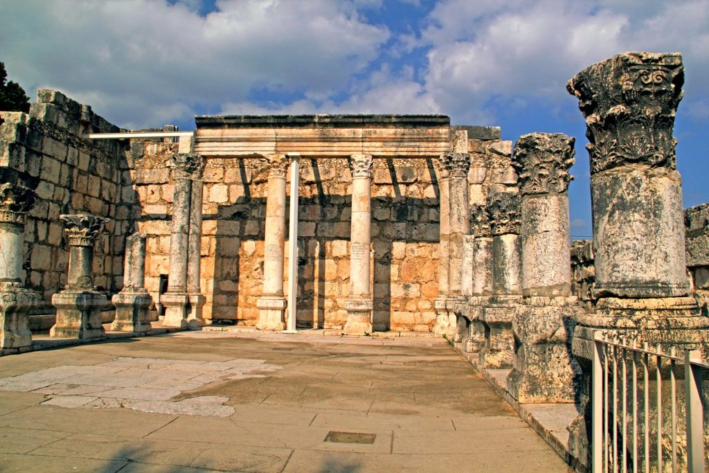 Ancient synagogues in Israel - capernaum
