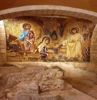 Saint Joseph Church Mosaic