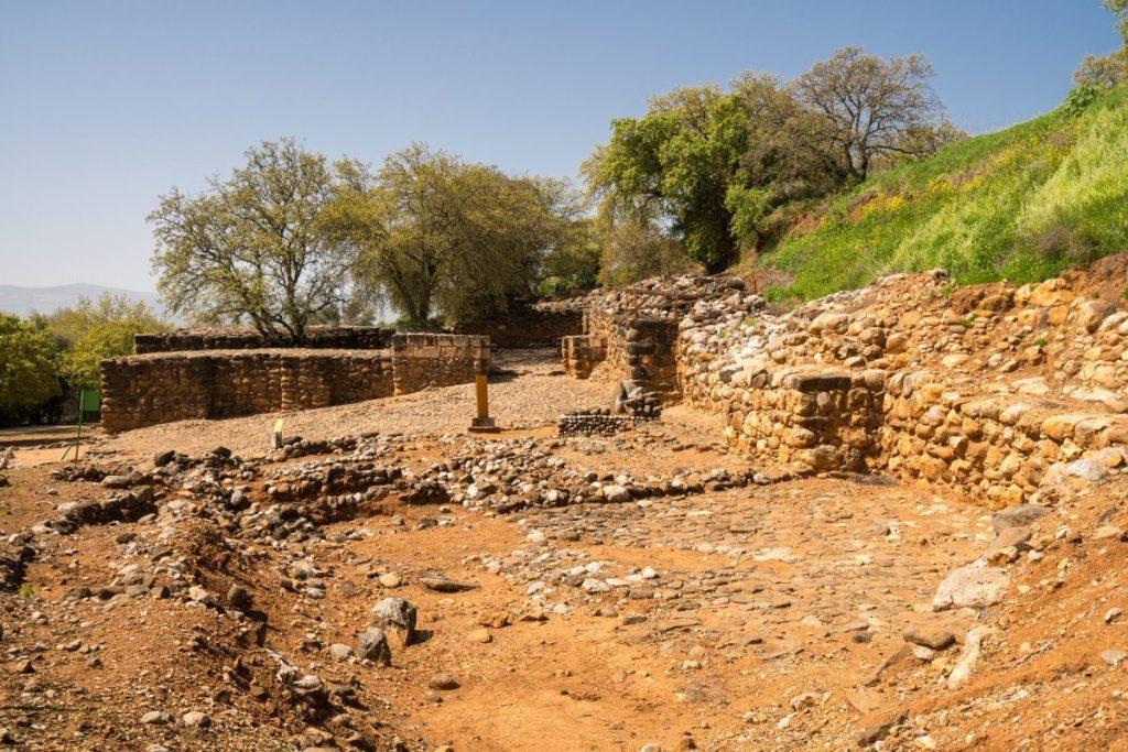 Tel Dan in the Bible - Israelite Gate