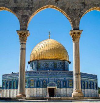 Golden Dome. Jerusalem