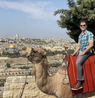Best Spot for a Photo on Top of a Camel