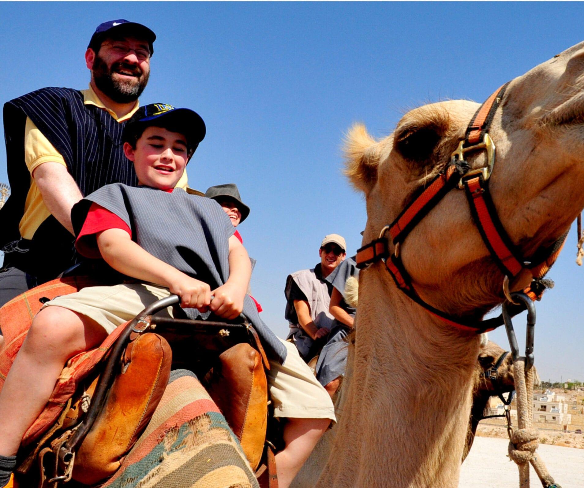 Masada Ultimate Guide - Family Camel Ride