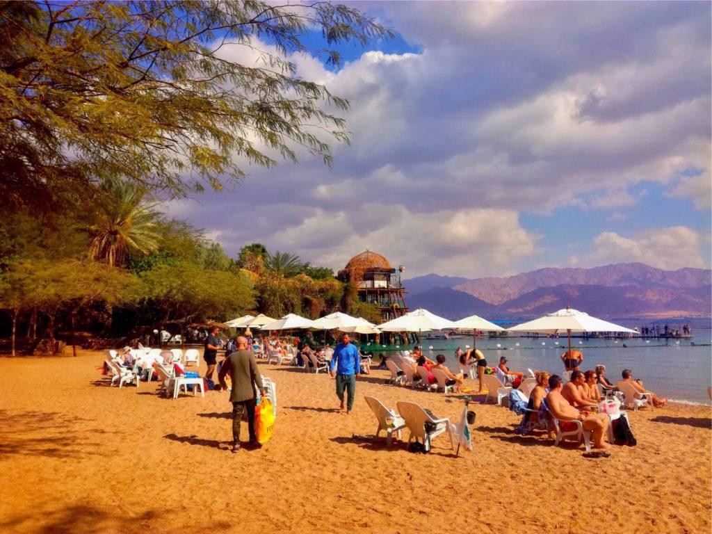 Best Beaches in Eilat - Dolphin Reef Beach Eilat