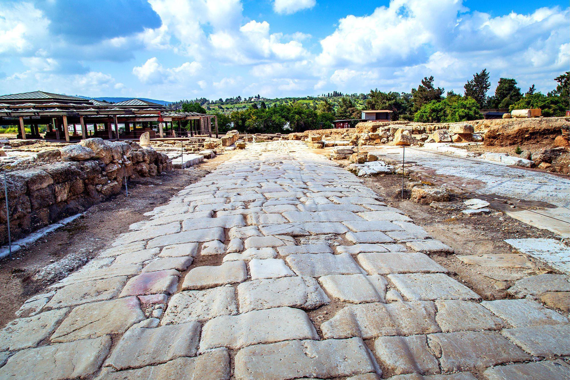 Herod Antipas - Cardo in Sepphoris