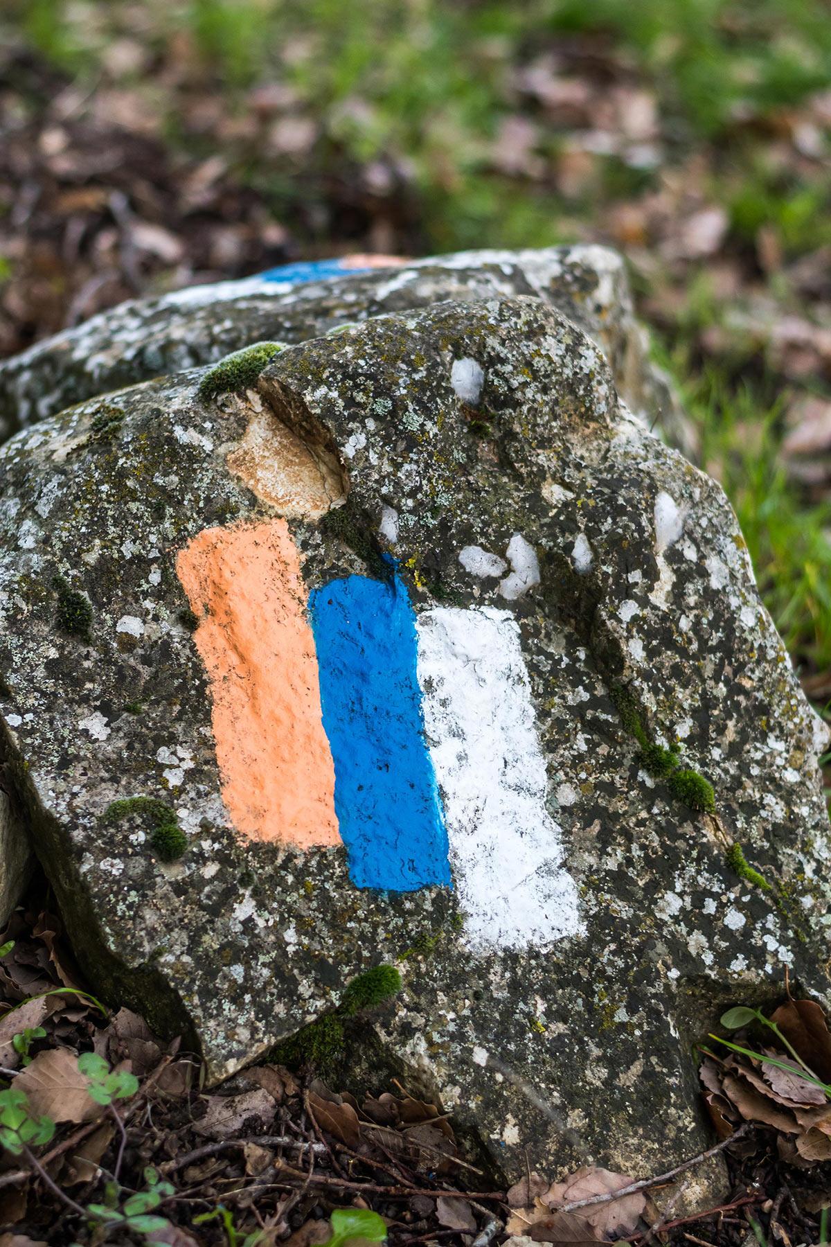 Israel National Trail - Mark