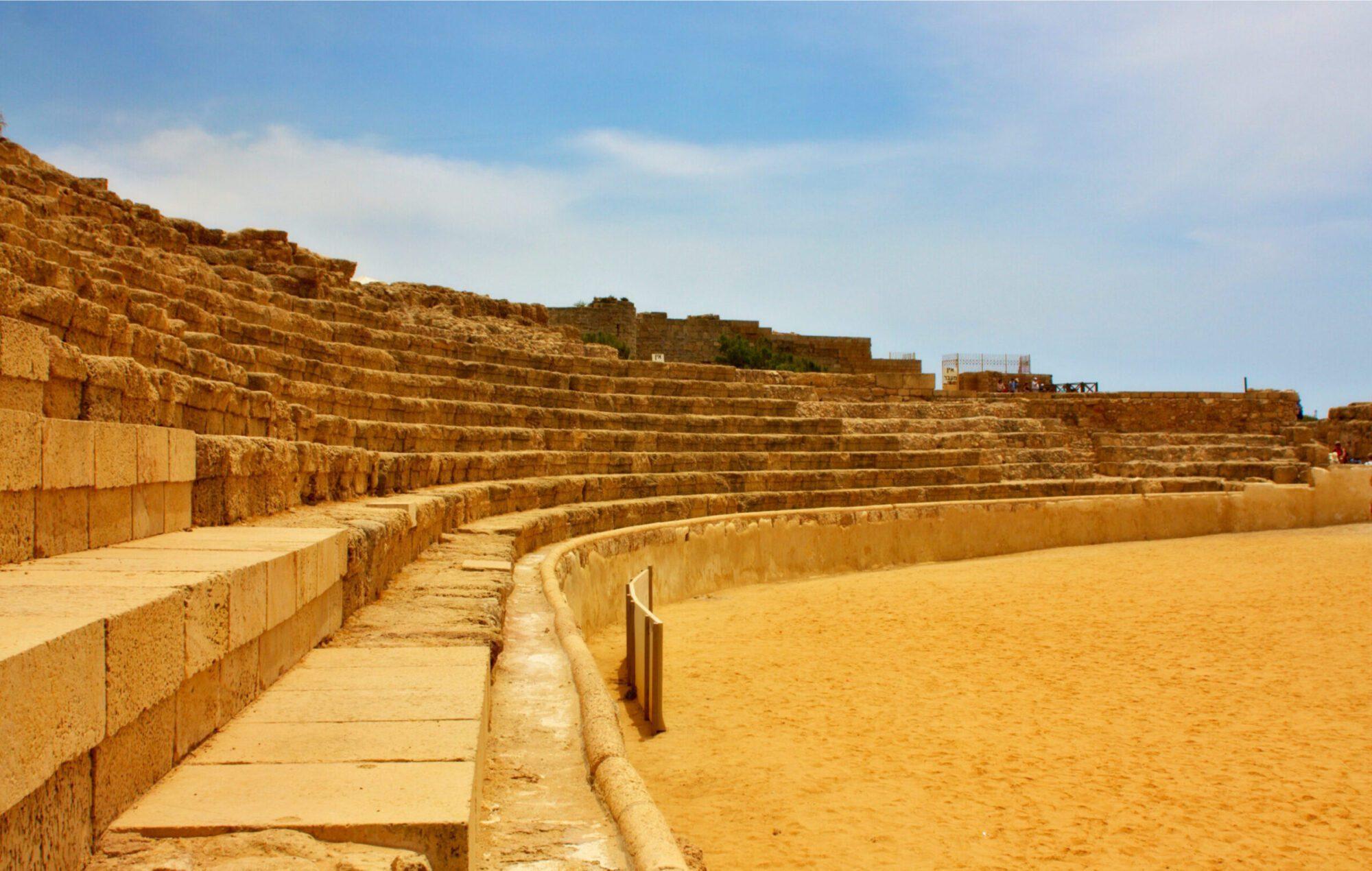 Israel Archaeological One Day Tours - Caesarea Hippodrome