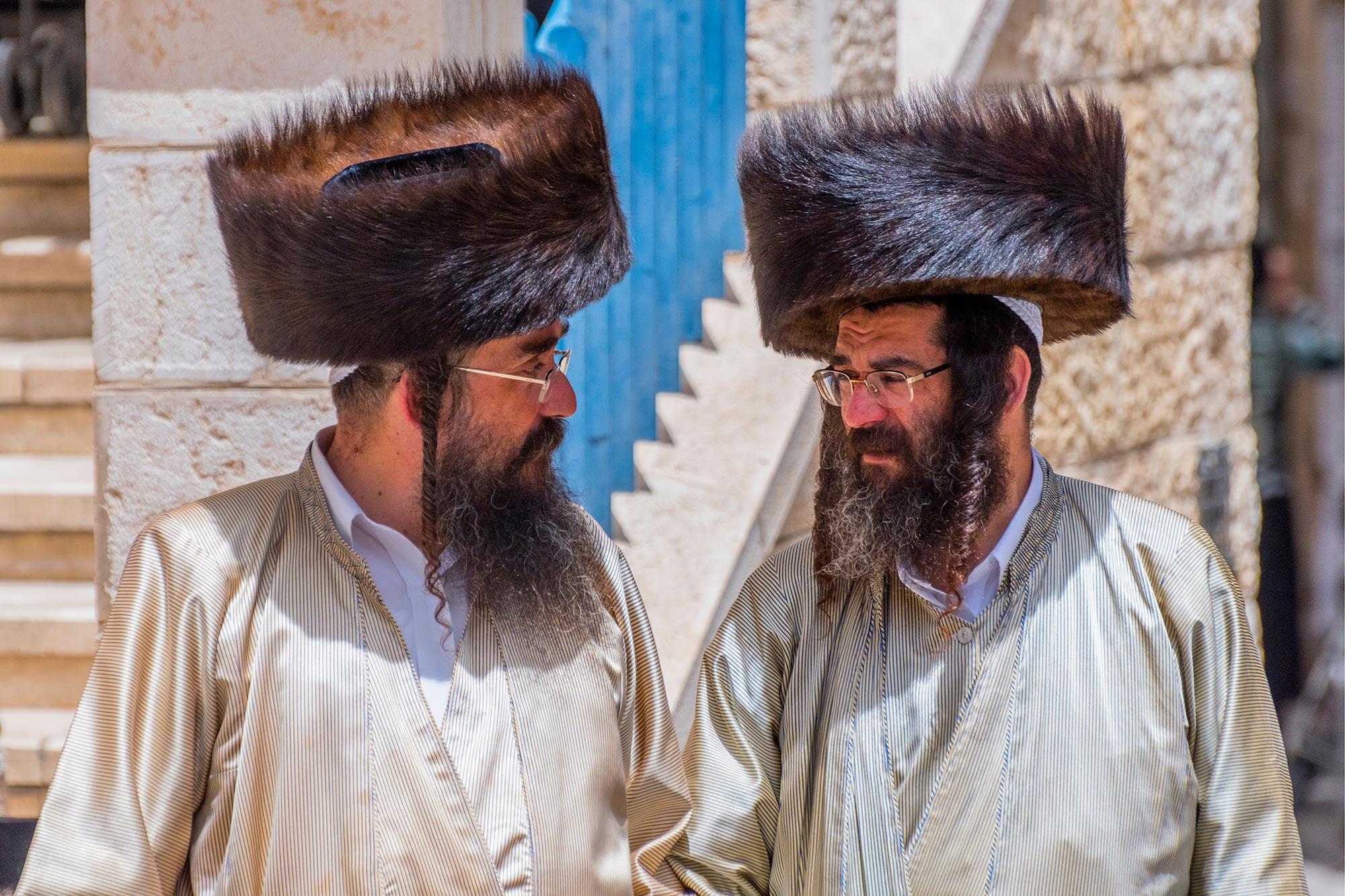 Mea Shearim - Jewish Men