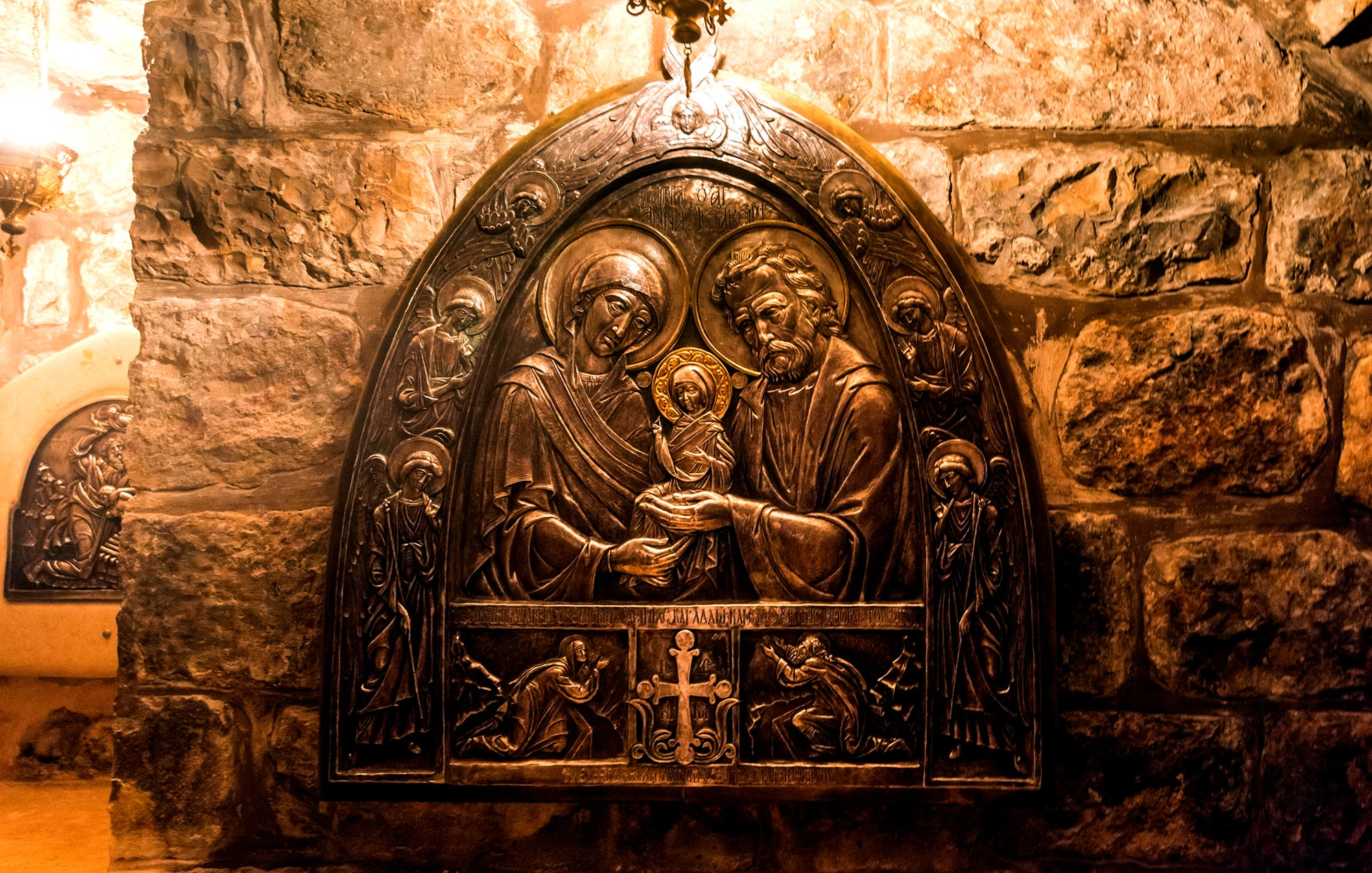 Jesus: Genealogy and Nativity - Church of St. Anne