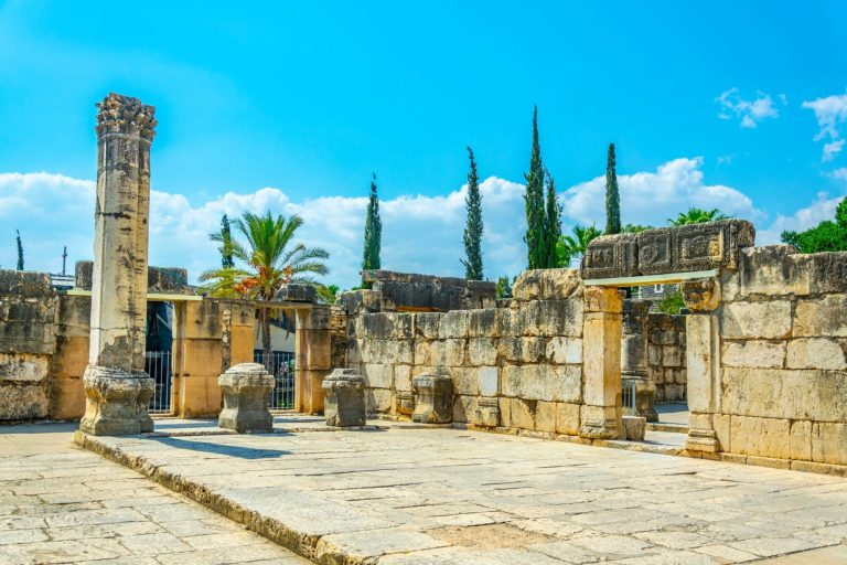 Christian Holy Land Seven Day Tour Capernaum