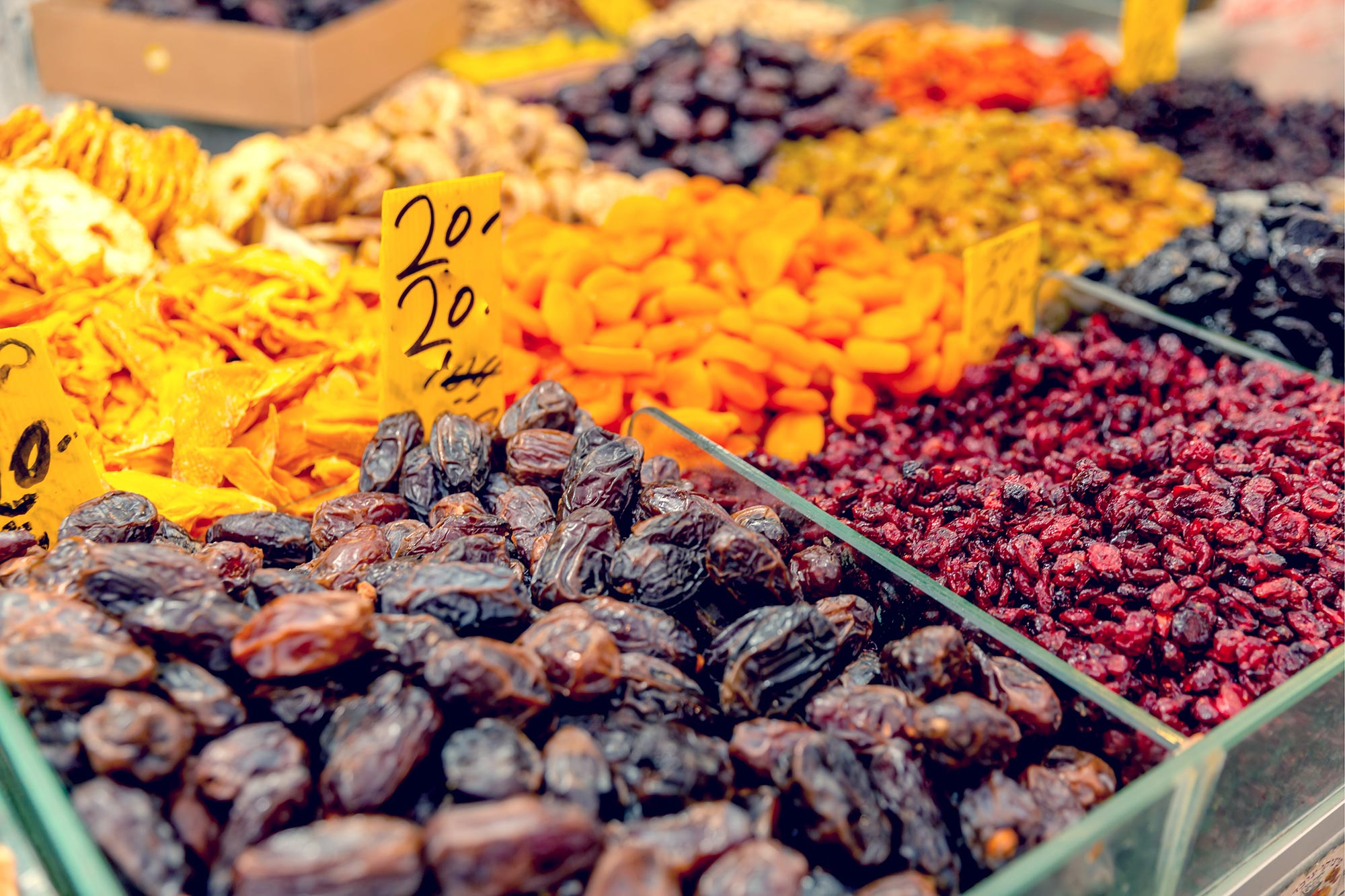 Carmel Market - Dates
