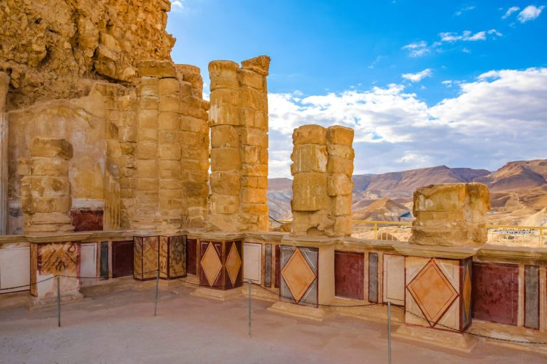 The Promised Land Ten Days Tour - Masada Lower Palace