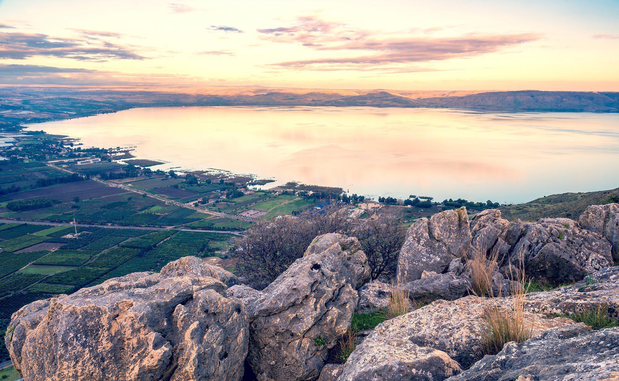 Israel National Trail, Kinneret - Sea of Galilee