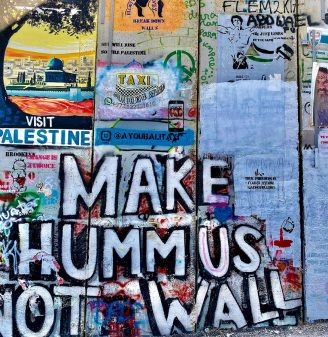 Bethlehem Graffiti Tour - Make Hummus Not Wall