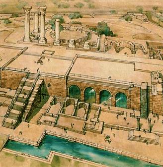 The Cultic Area in Caesarea