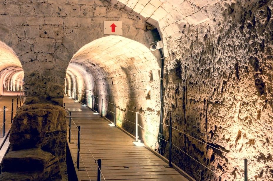 The Templar's Tunnel Entrance