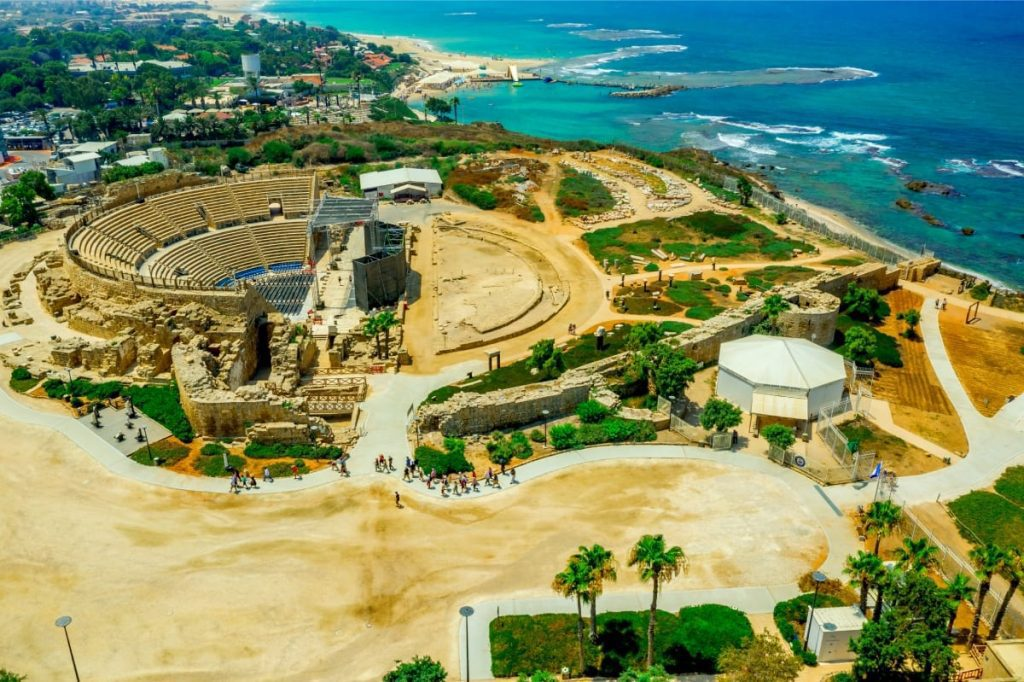 The Theatre at Caesarea Maritima