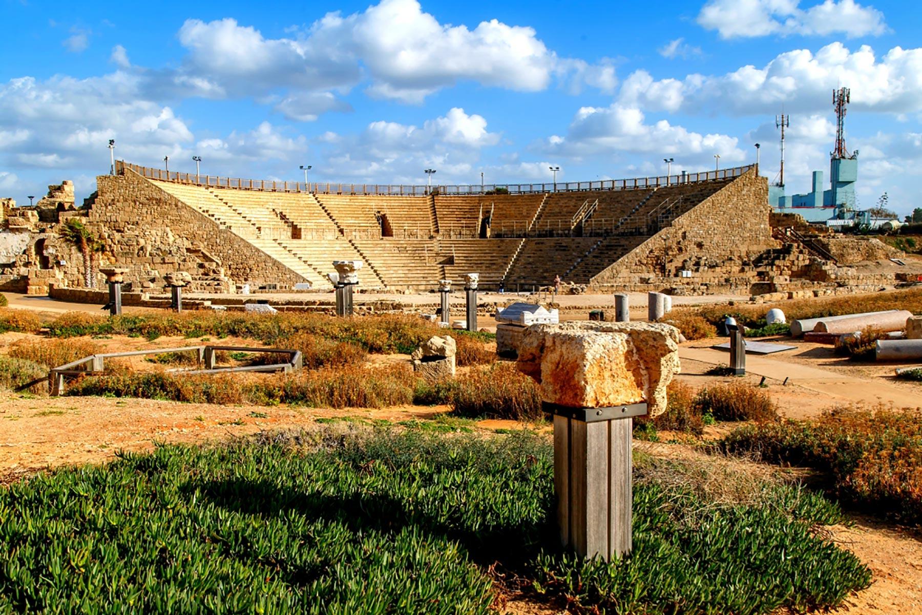 Christian Galilee Tour - Caesarea Theatre