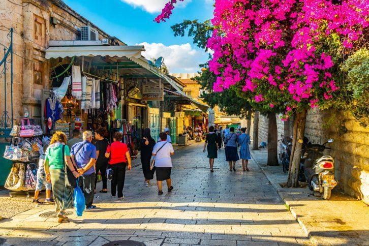 Old City Jerusalem Tour - The Christian Quarter Shops