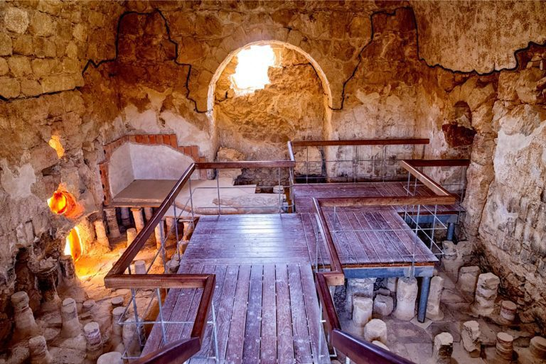 The Dead Sea Masada Tour - Masada Roman Bath