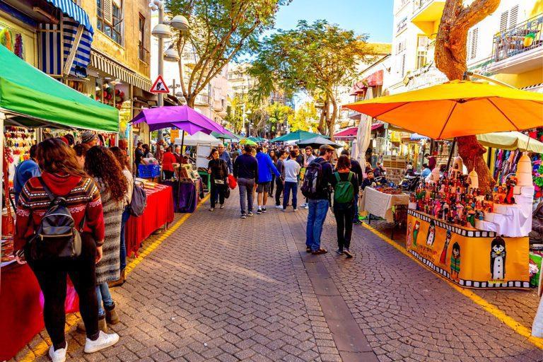 Tel Aviv Day Tour - Nahalat Binyamin