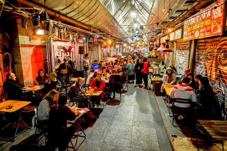 Old City Jerusalem Tour - Mahane Food Market - Bars