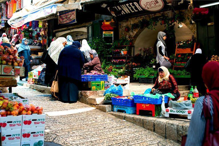 Old City Jerusalem Tour - Muslim Quarter - Market