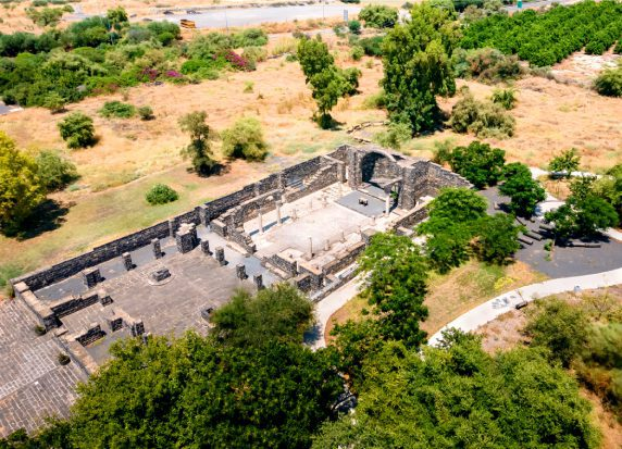 Christian Galilee Tour - Kursi Ruins