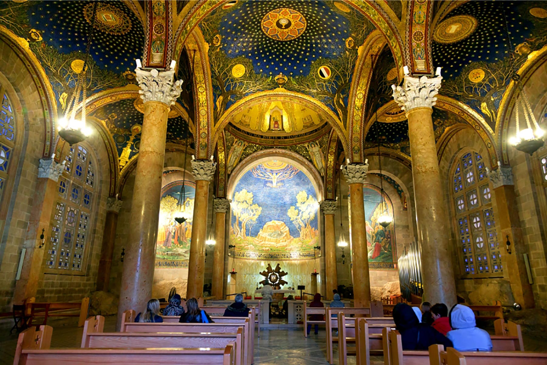 Old City Jerusalem Tour - Church of All Nations Interior