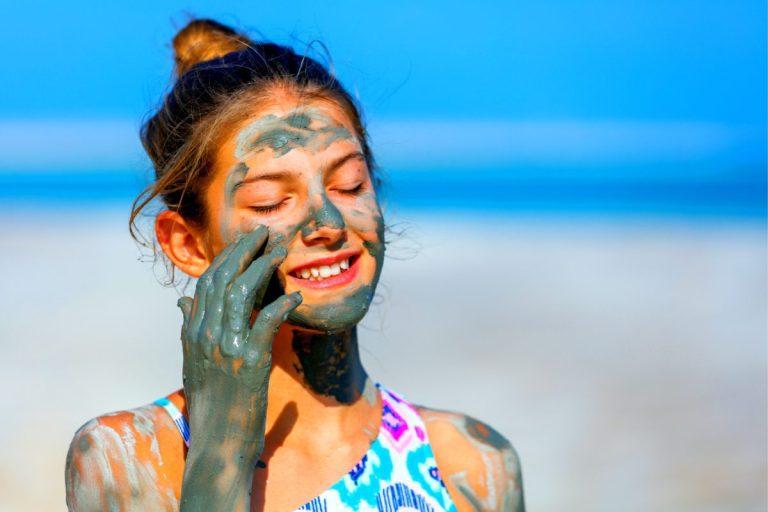 The Dead Sea Masada Tour - A dip into the Dead Sea Child