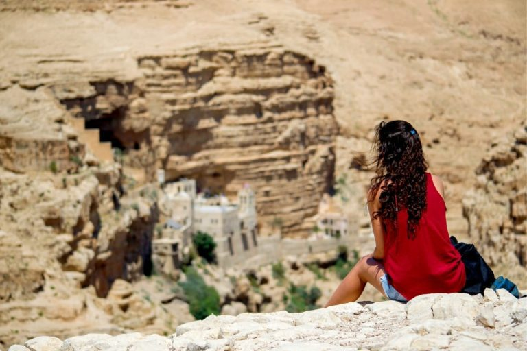 Bethlehem and Jericho Tour - St. George Monastery