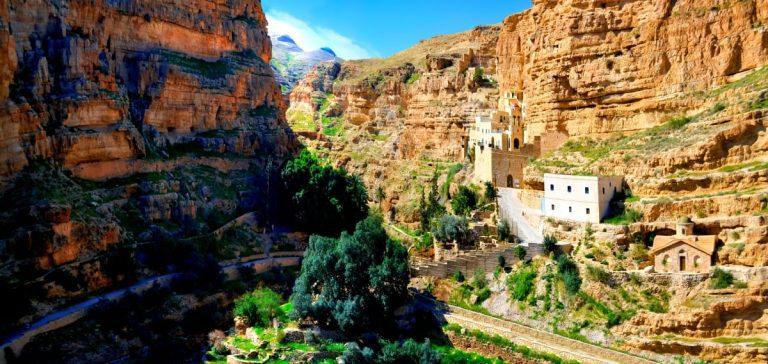 Bethlehem Jericho Tour St. George Monastery View