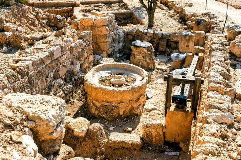 Samaria Day Tour - Ancient Shiloh Olive Press