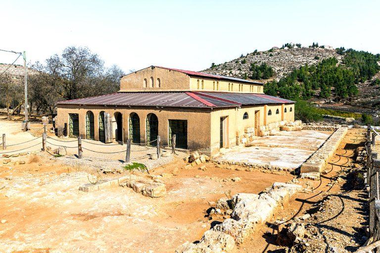 Samaria Day Tour - Ancient Shiloh Byzantine Church