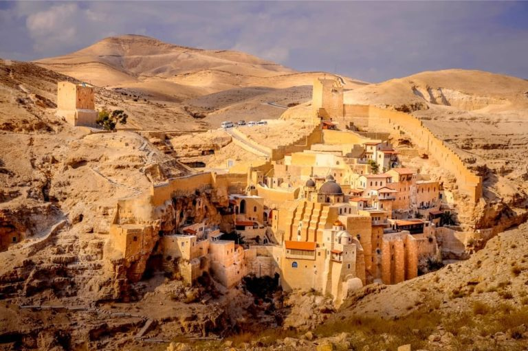 Bethlehem and Jericho Tour - Mar Saba Monastery