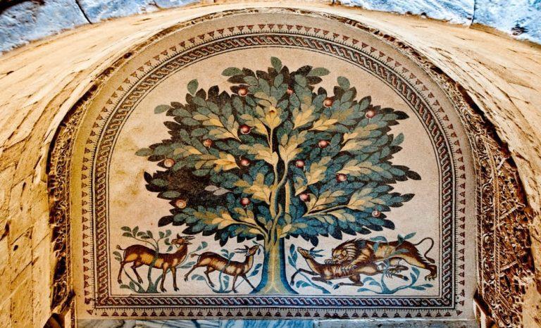 Bethlehem and Jericho Tour - Hisham's Palace Tree of Life Mosaic